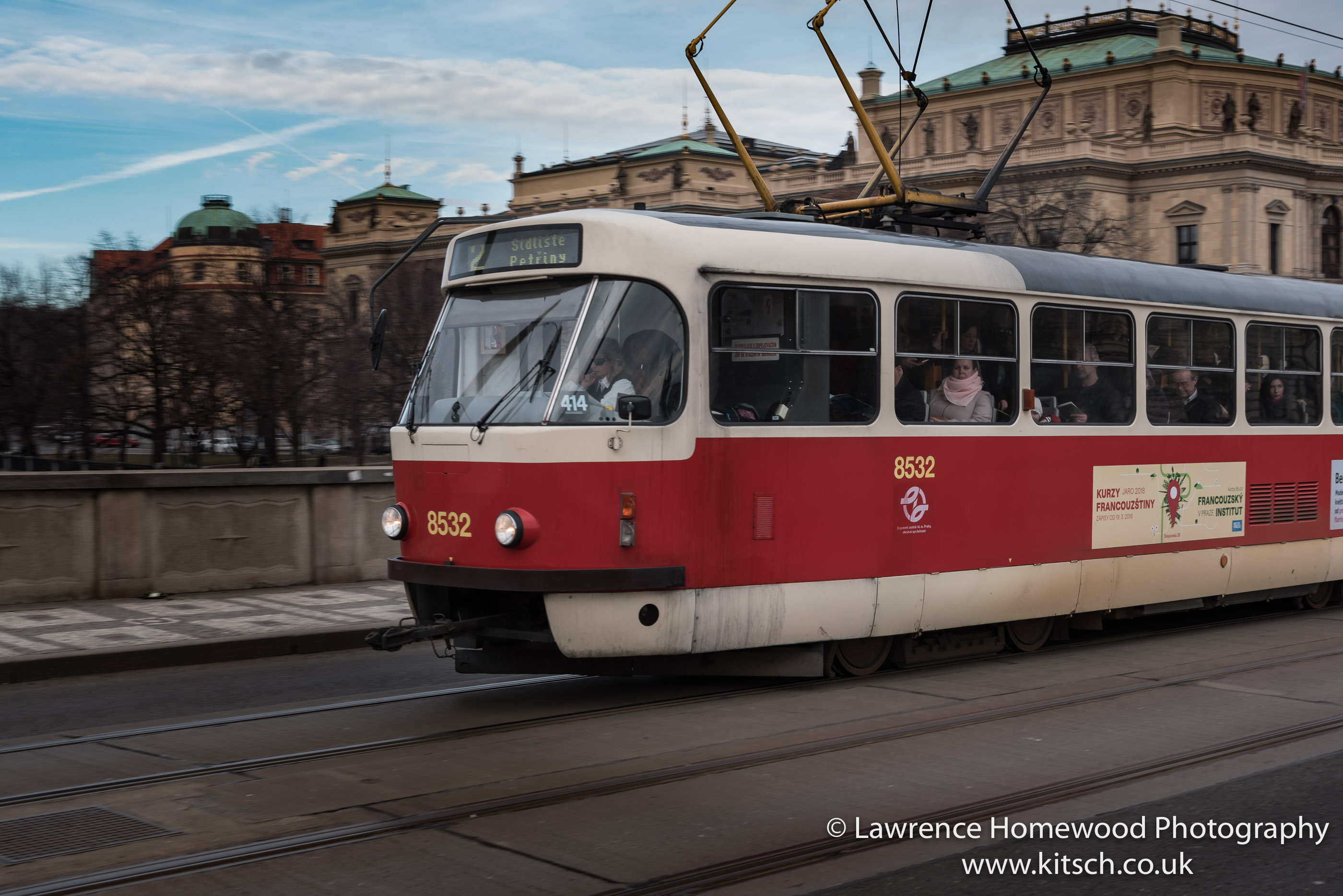 Tram Transport Praha