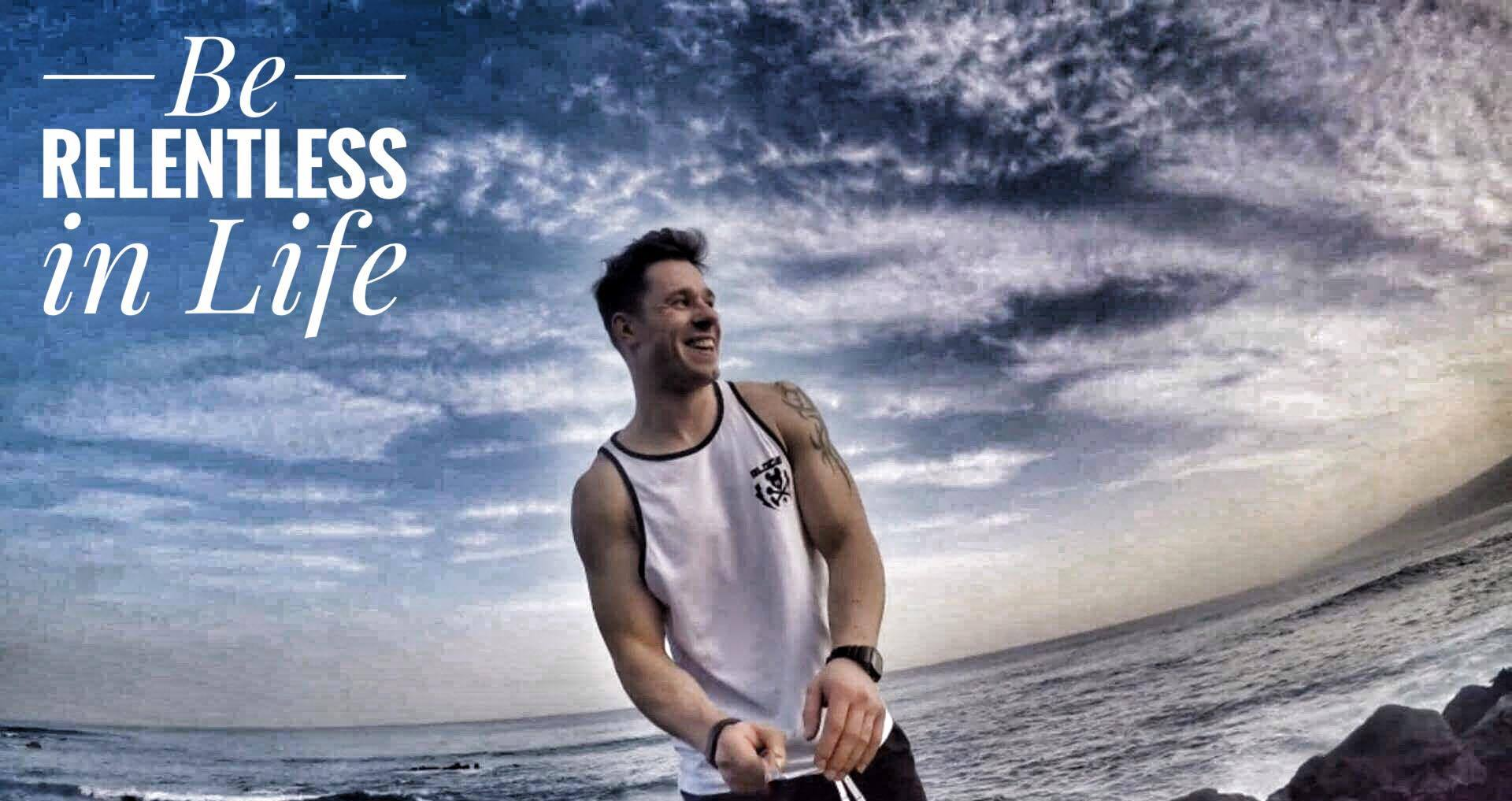 Be relentless in life body by finn glenn ireland personal trainer fitness coach kenmare dublin weigh