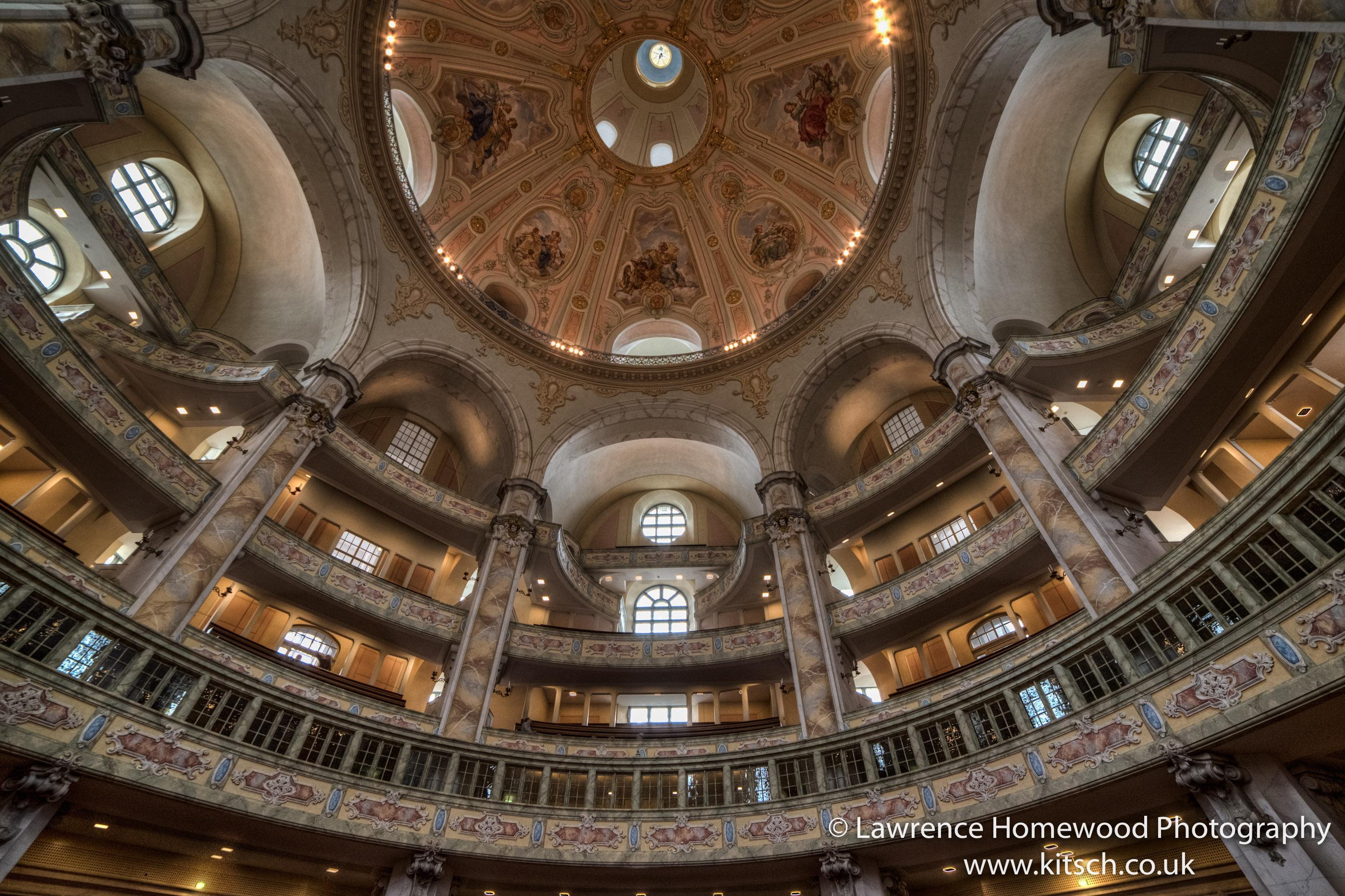 Dresden Church Interior 2