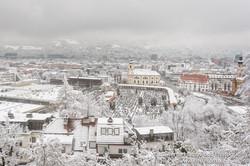 Innsbruck in the Snow