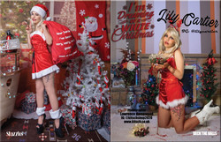 Deck of Halls Issue 80 featuring Lily - Shazzles Magazine 2020