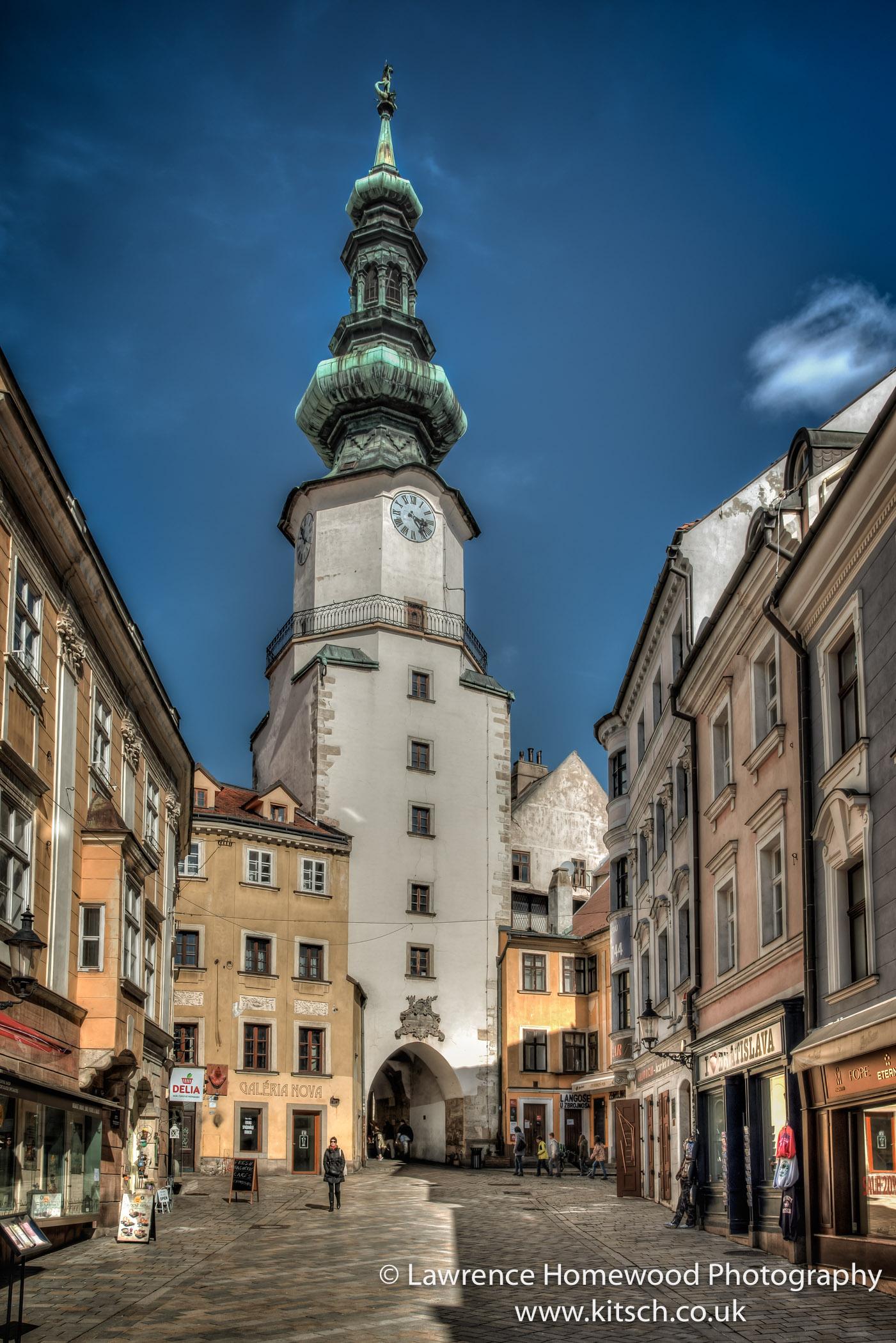 Michaels Gate Bratislava