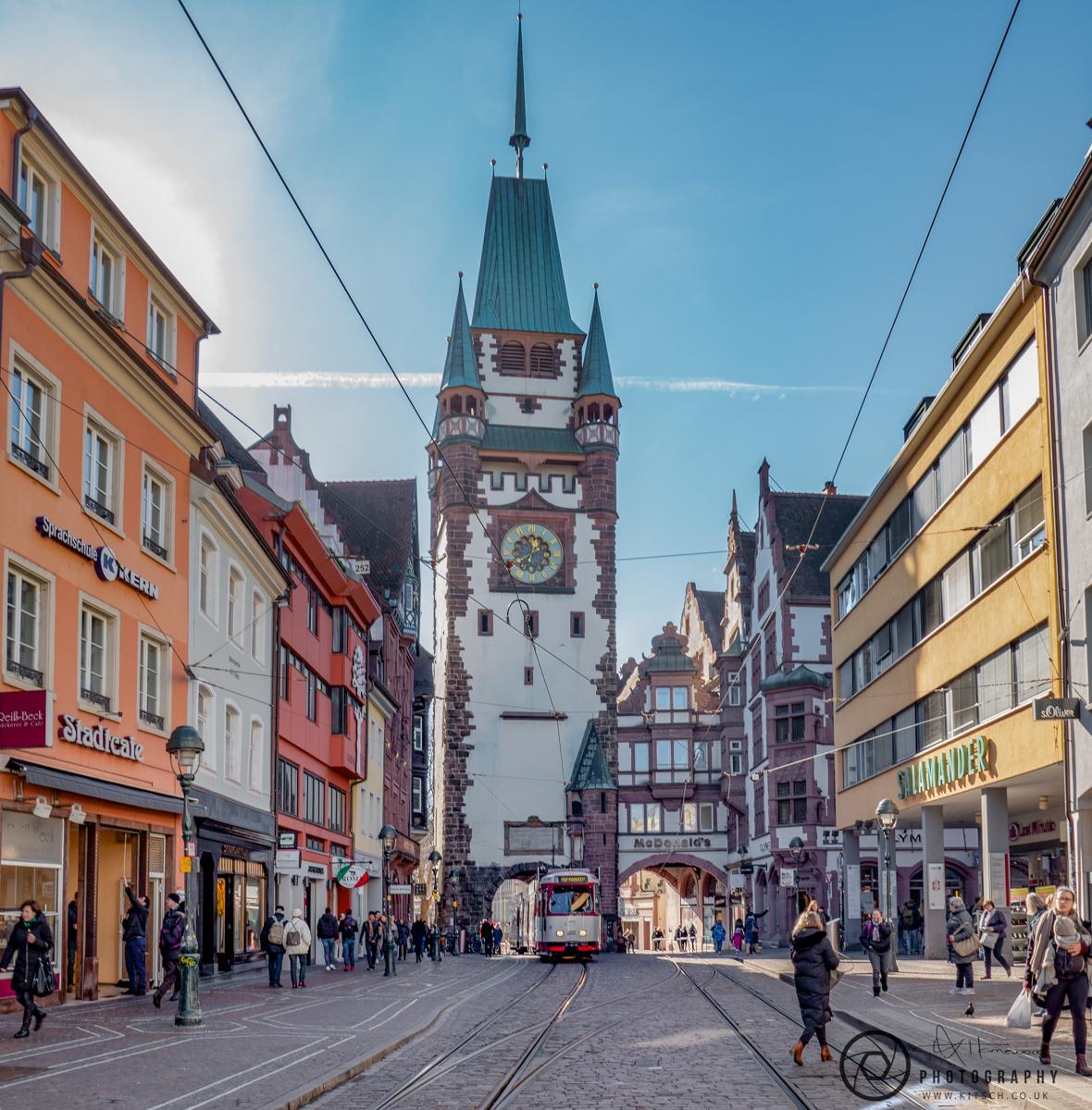 Freiburg Martinsor Gate