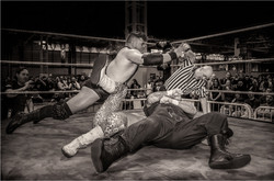 Tag Wrestling Out on the Count
