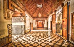 Bahia Palace Earthy Tone Interior.