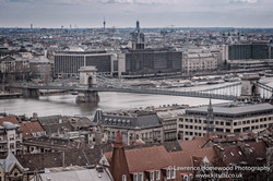 Budapest Chain Bridge (Budia view)