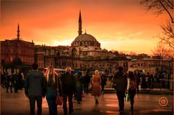 Bazaar Walking into the Sunset
