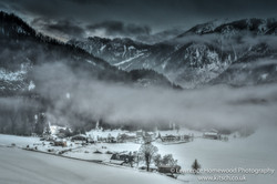 Snowy Misty Brandenberg