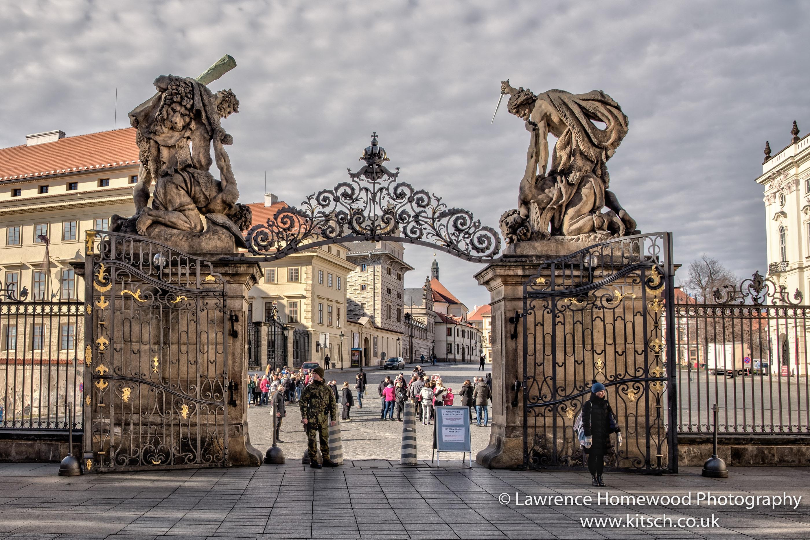 Prague Castle Matthias Gate 1