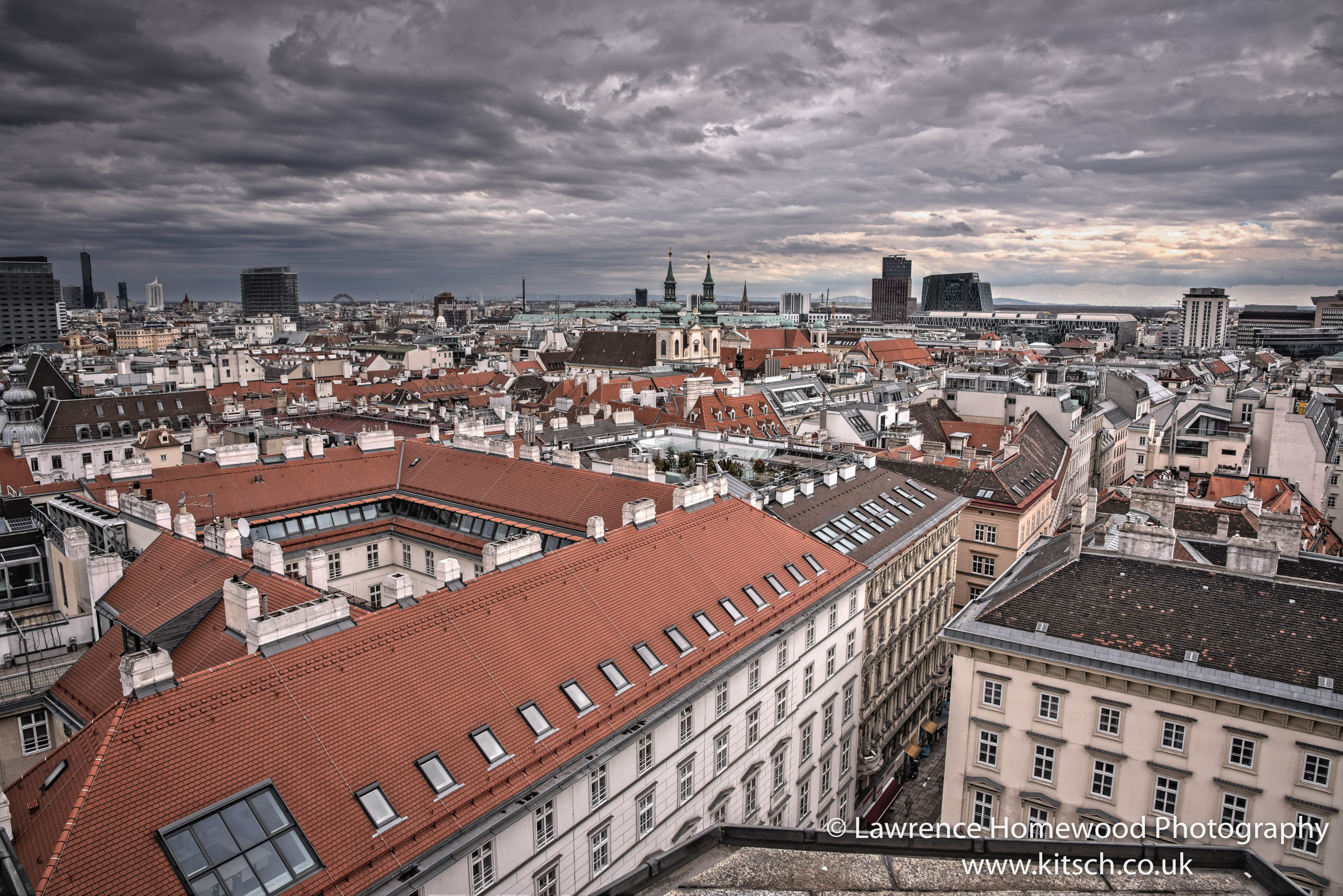 Rooftops of Vienna 1