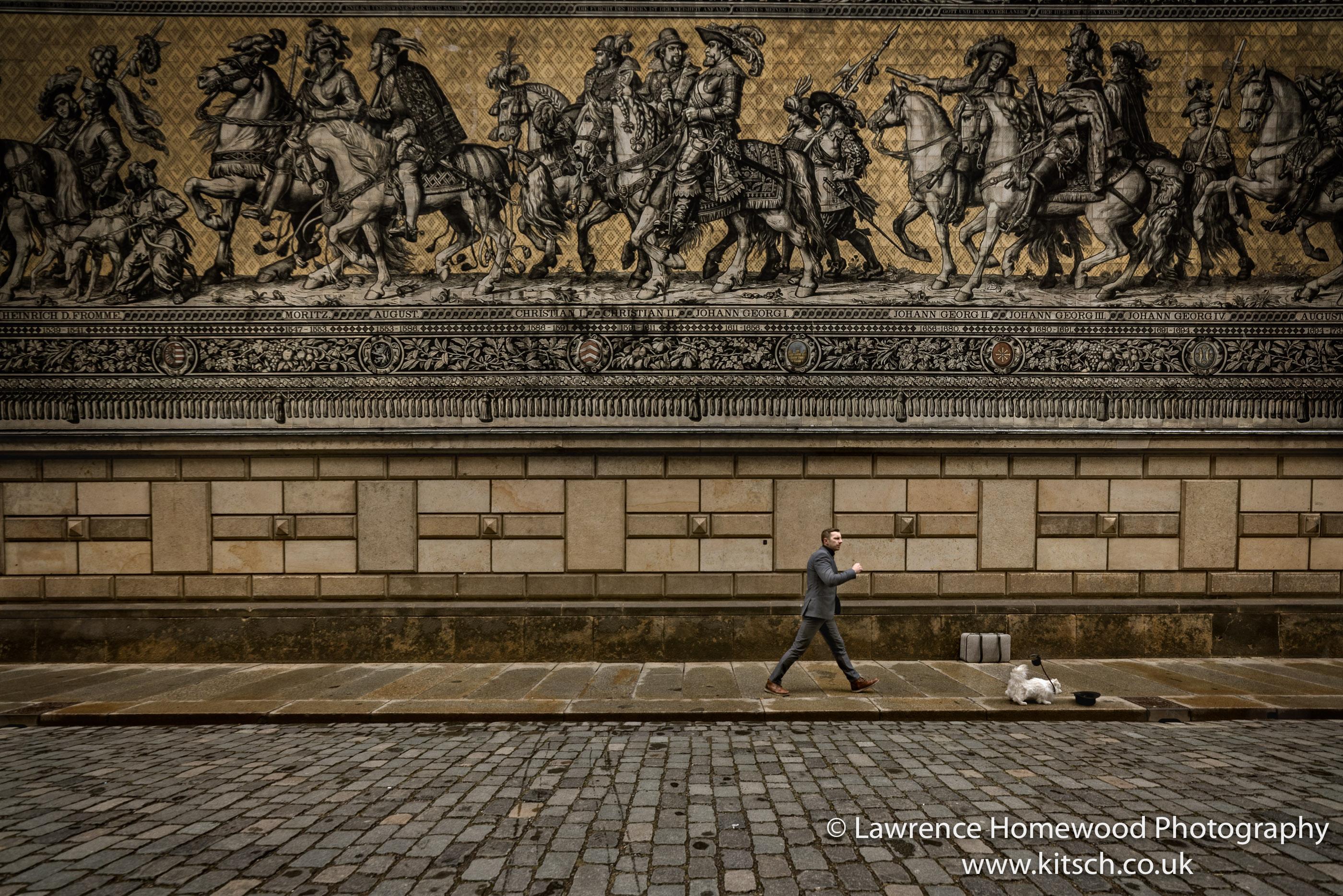 Dresden Processionof Princes Wall Mural