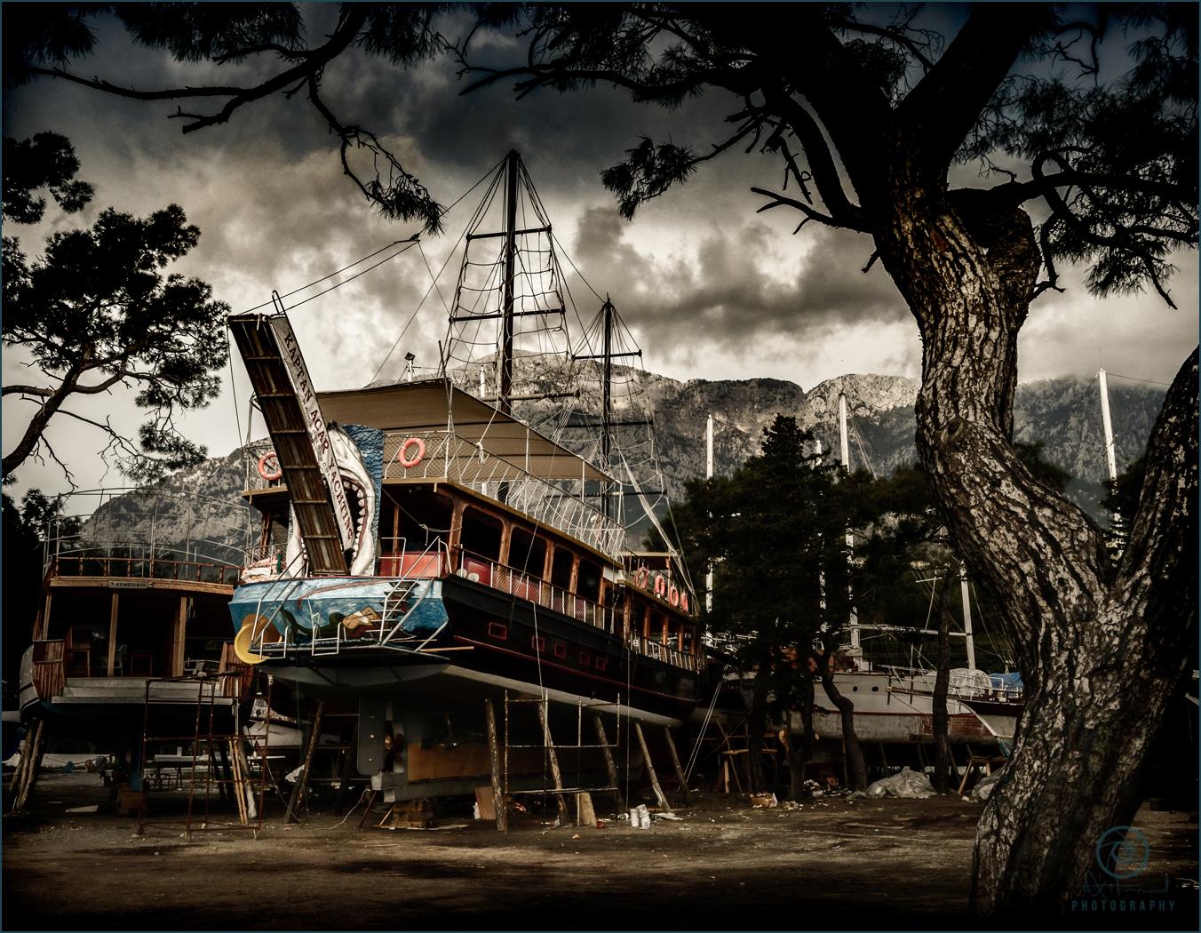 Shark Island Tall Ship
