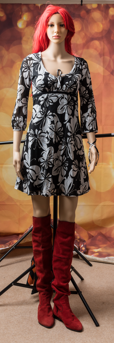 Jane Norman Retro Dress size 10 - 12