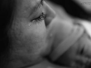 El momento en el que el niño nace es cuando la mujer lo siente