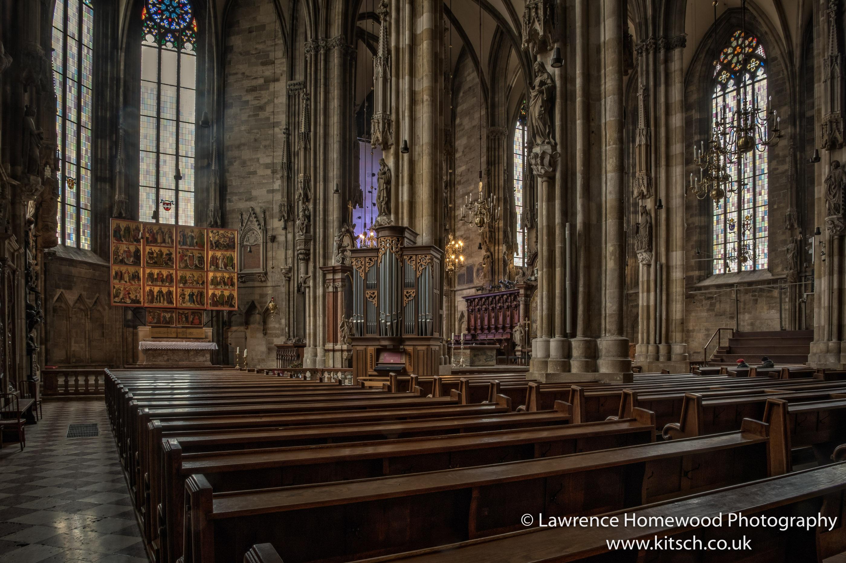Stephansdom Interior 1