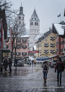 Kitzbuhl in the Snow