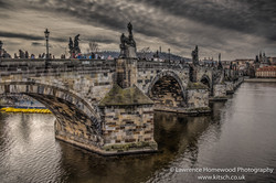 Charles Bridge brickwork