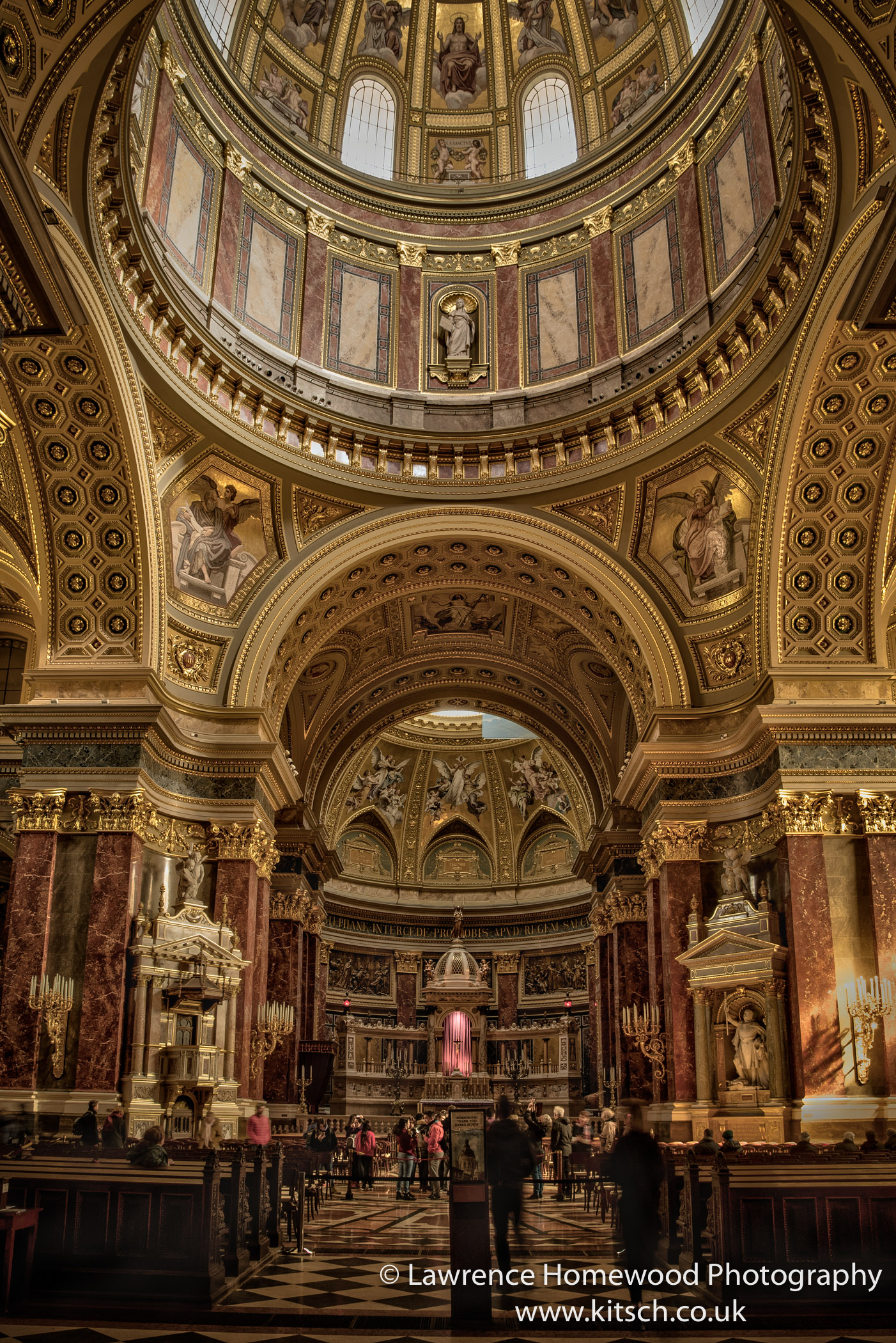St Stephen's Basilica Interior 3