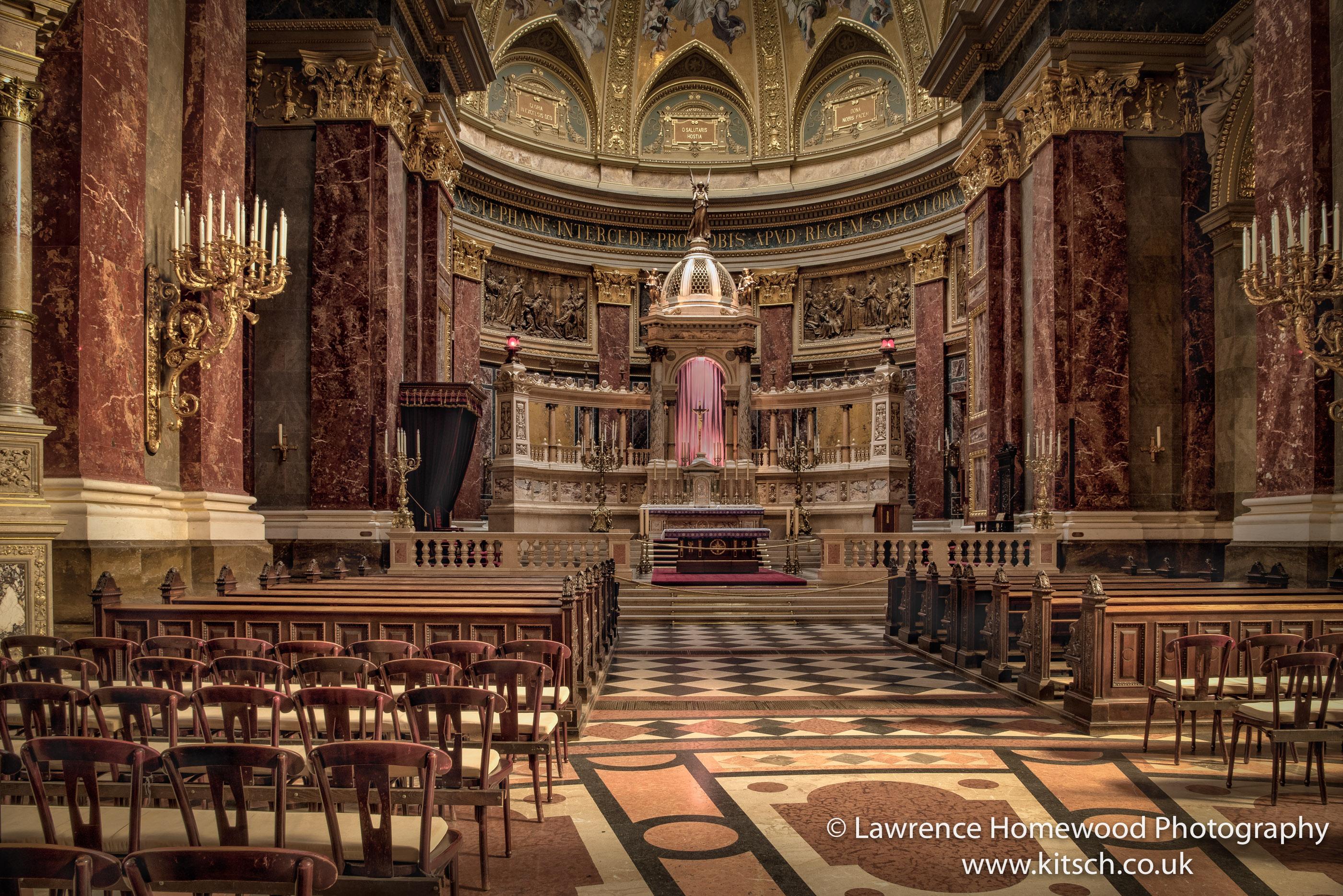 St Stephen's Basilica Interior 1