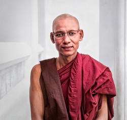 Portrait of a Monk at Wat Pho