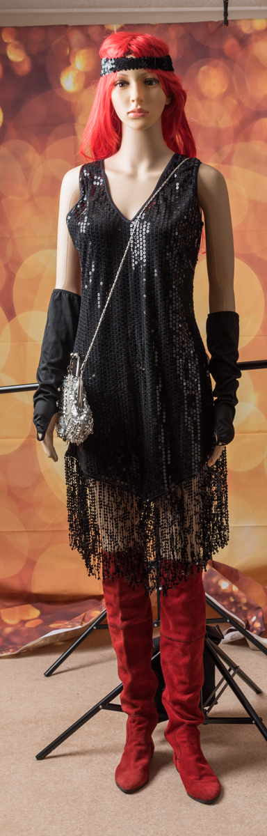Legs avenue - Retro sequin dress XL
