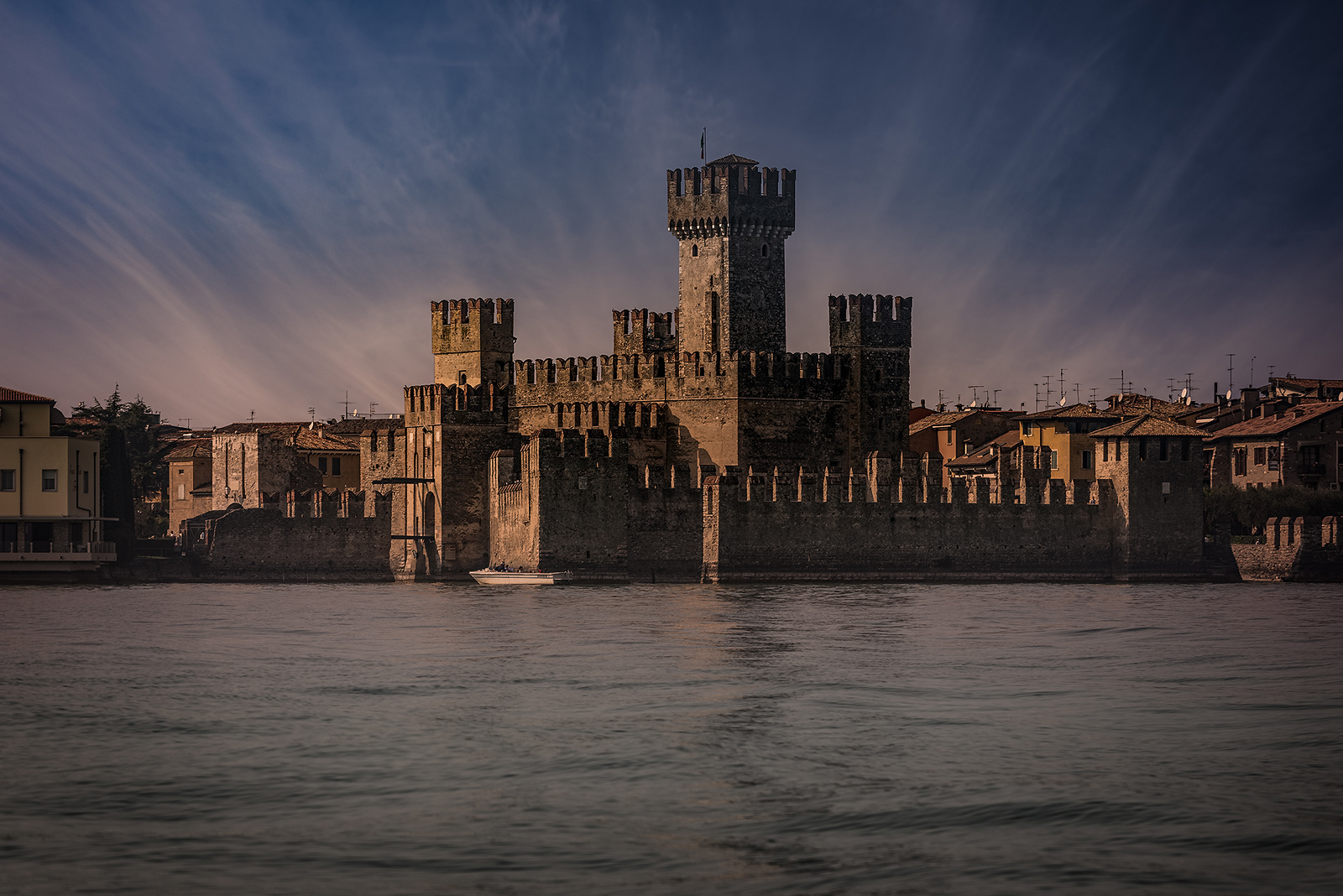 Castle-Sirmione-at-Dusk