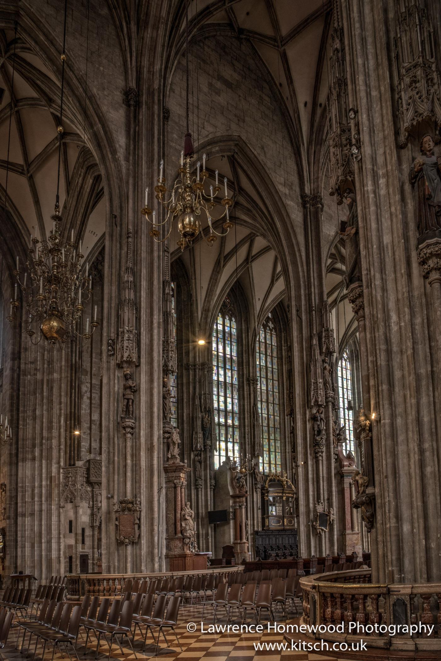 Stephansdom Interior 2
