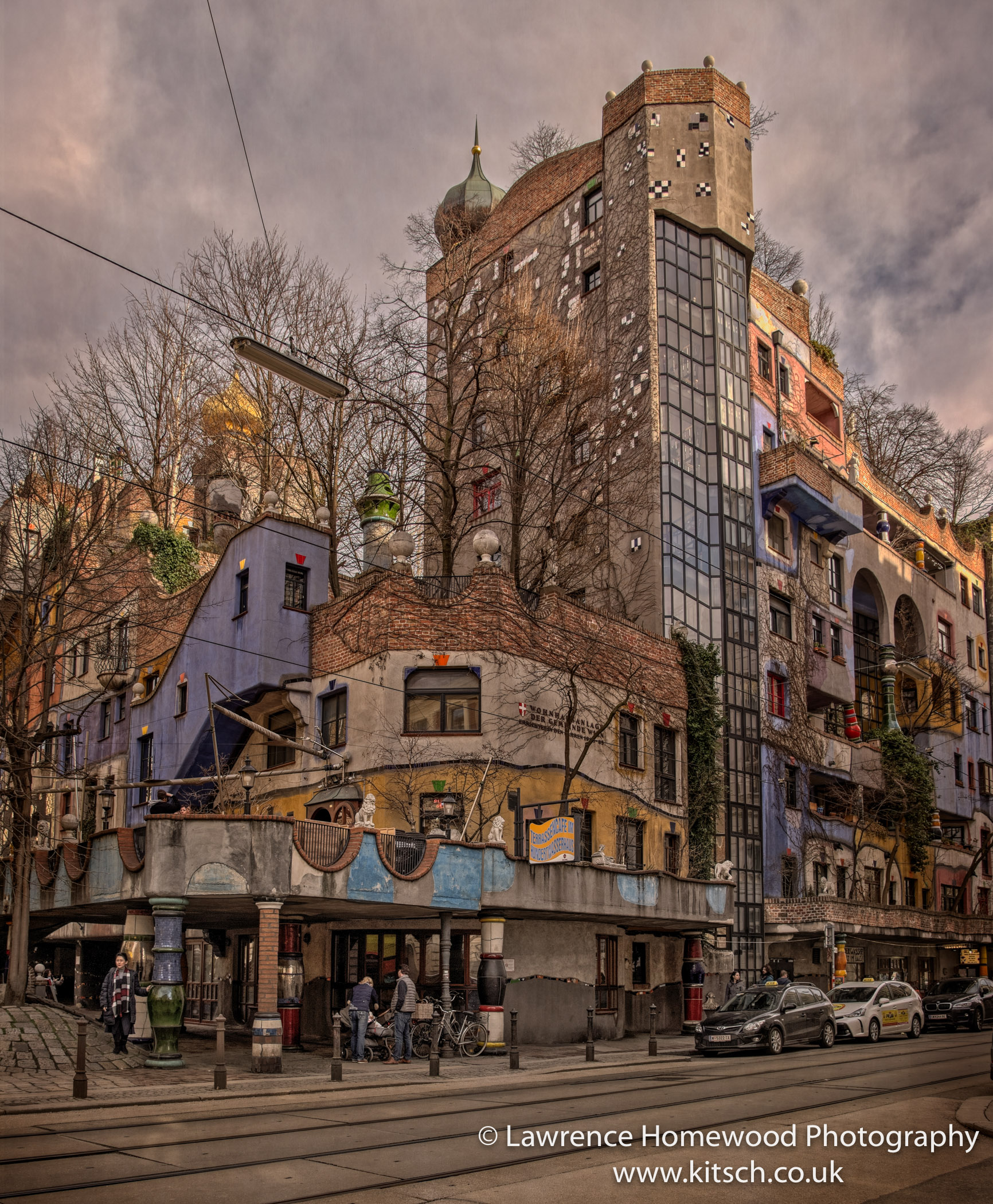 Hundertwasser Haus Abstract Buildings Vienna-2