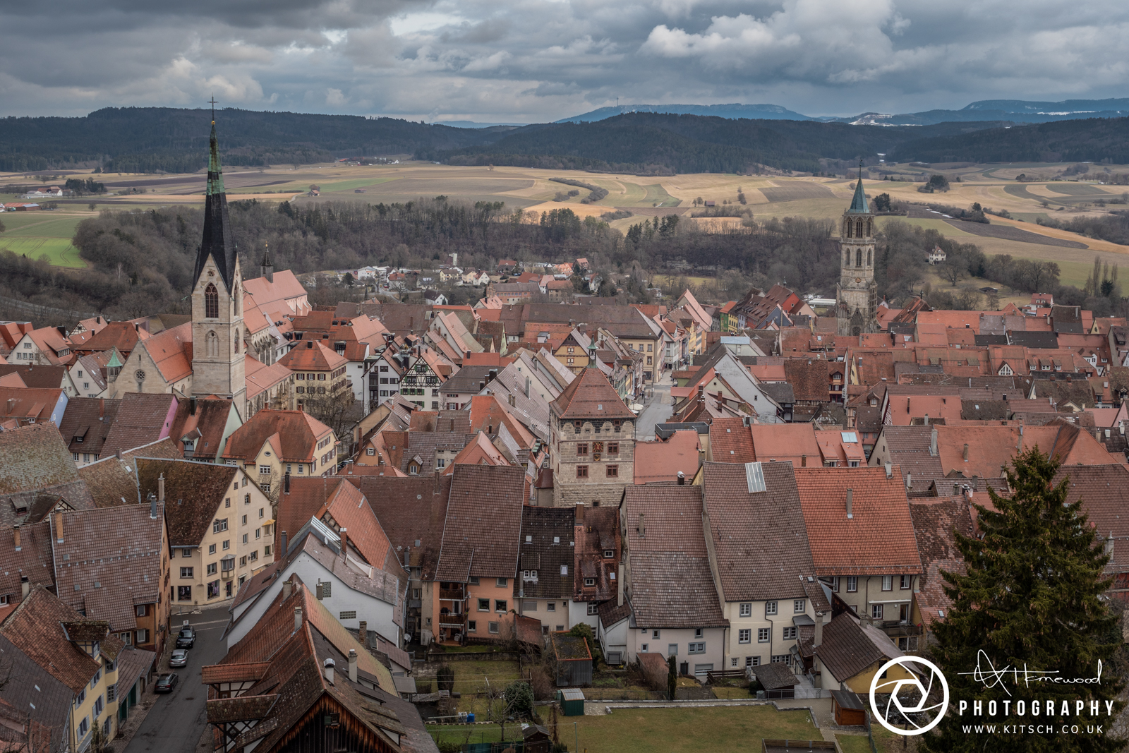 Rottweil Tower View
