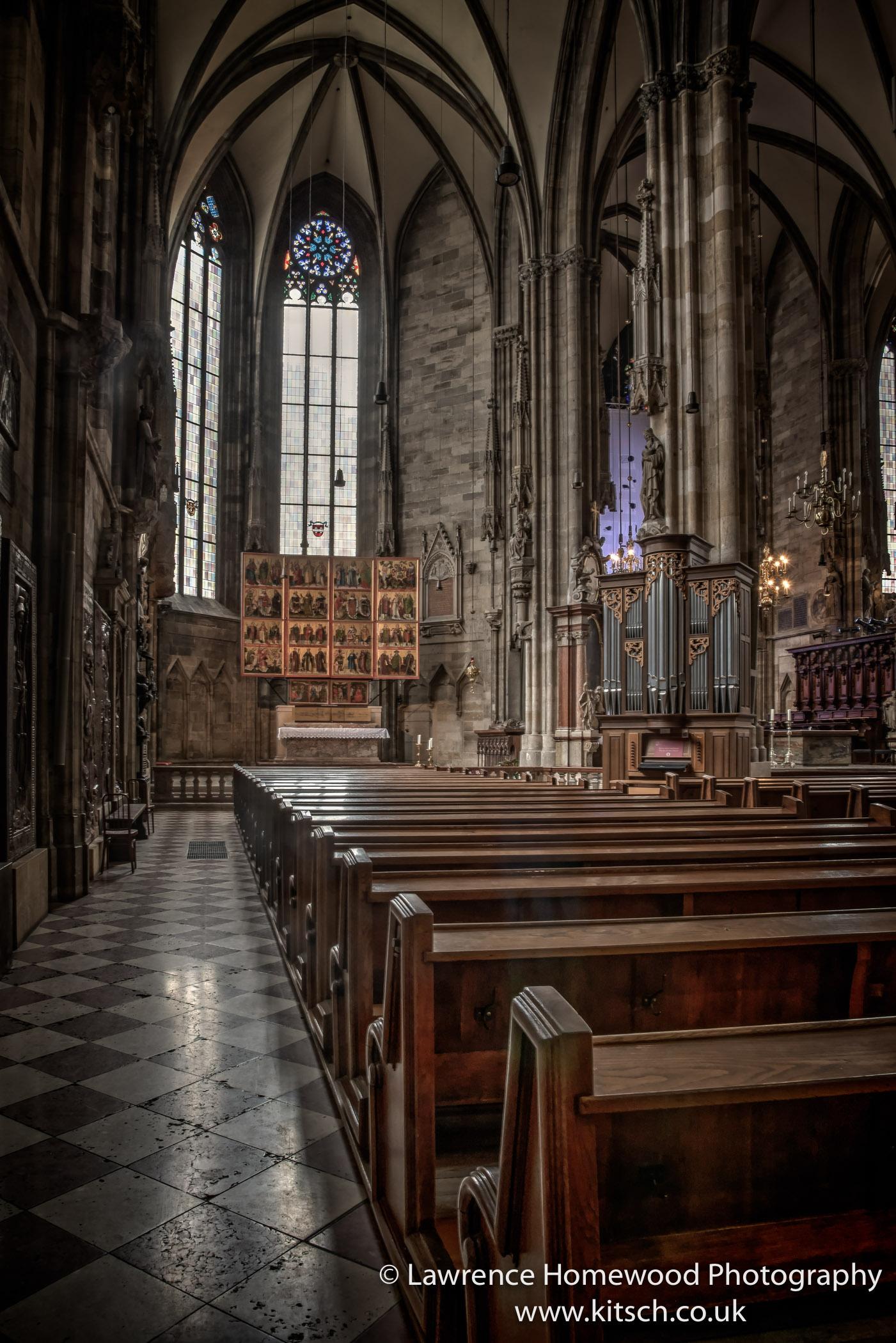 Stephansdom Interior 3