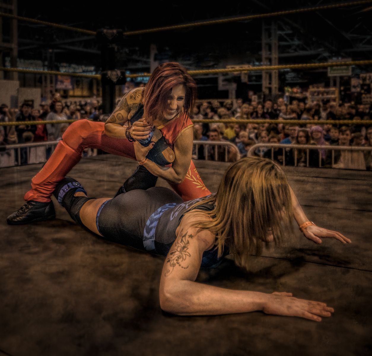 True Grit Female Wrestling