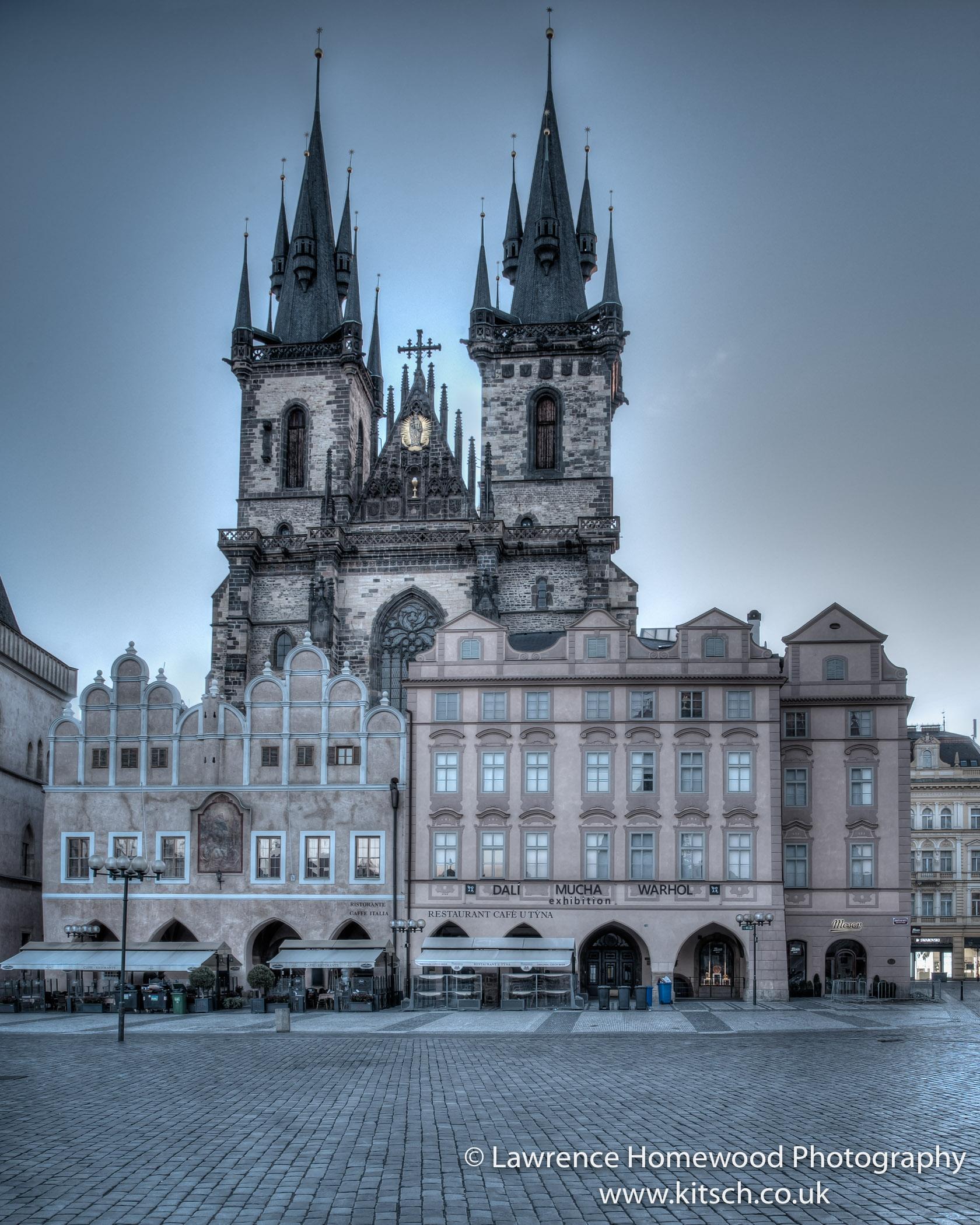 Tyn School Old Town Square Prague
