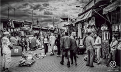 Streets to Market Square Marrakech
