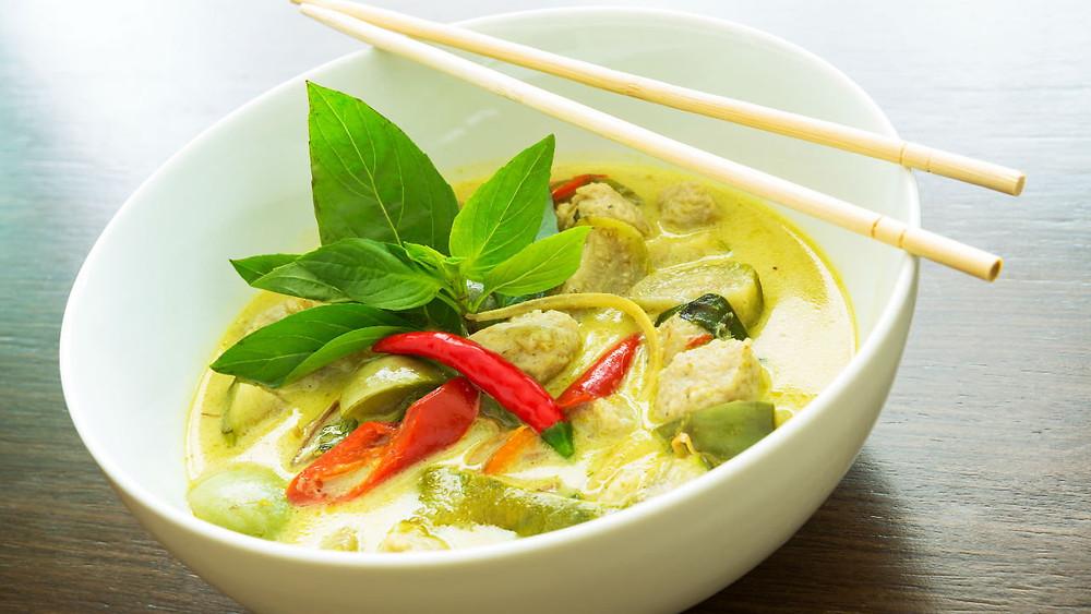 Thai Green Lamb Stew