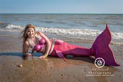 Pretty in Pink Mermaid
