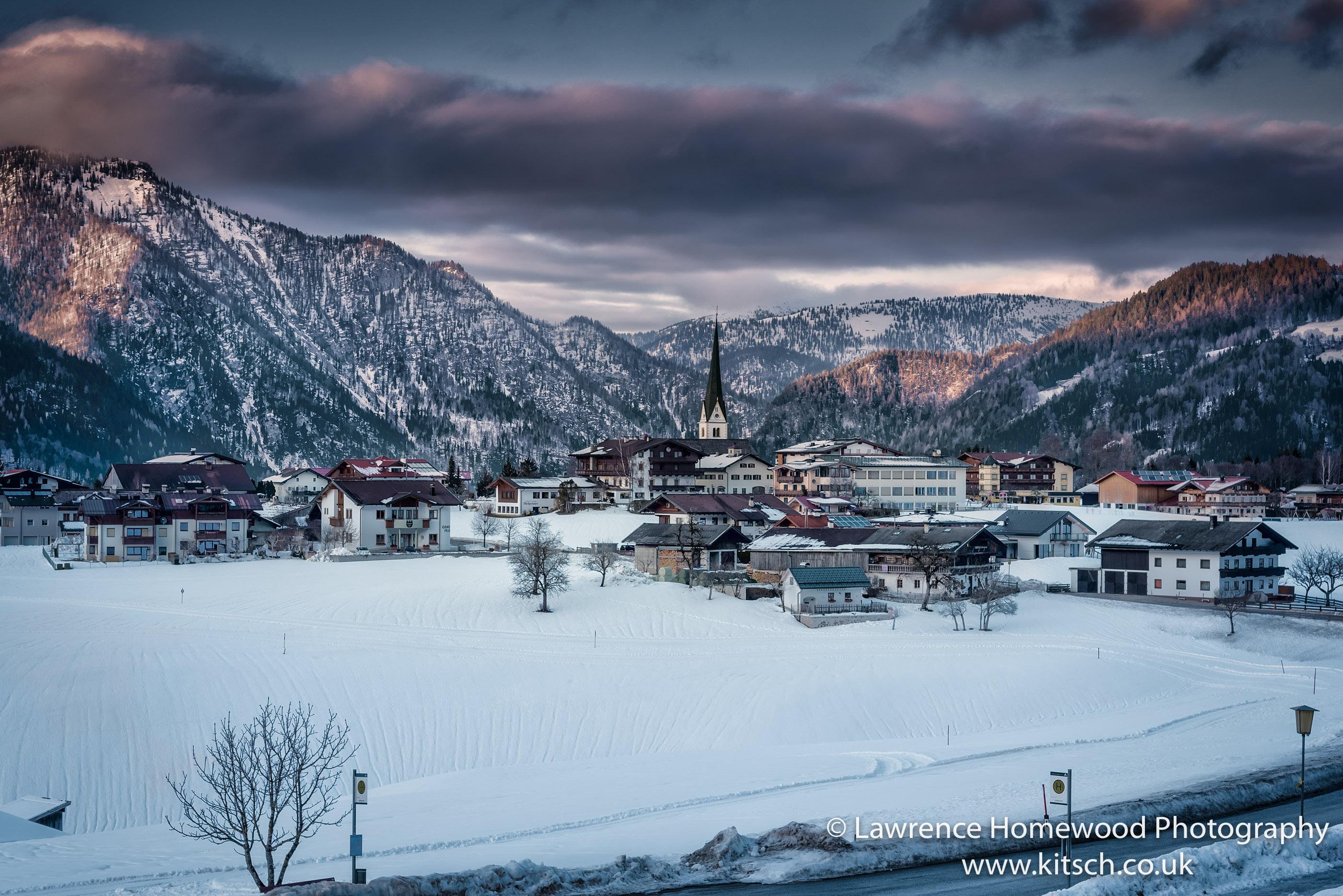 Winterscape Brandenberg