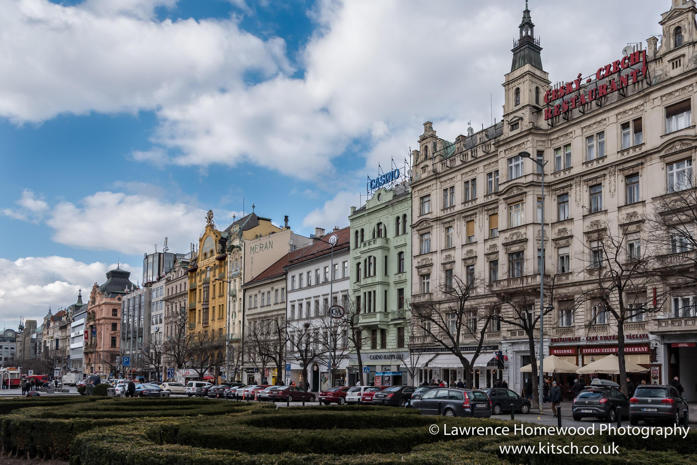 Prague Wensdale Square Buildings