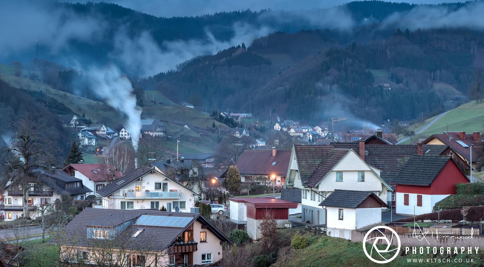 Oberharmersbach Evening Views