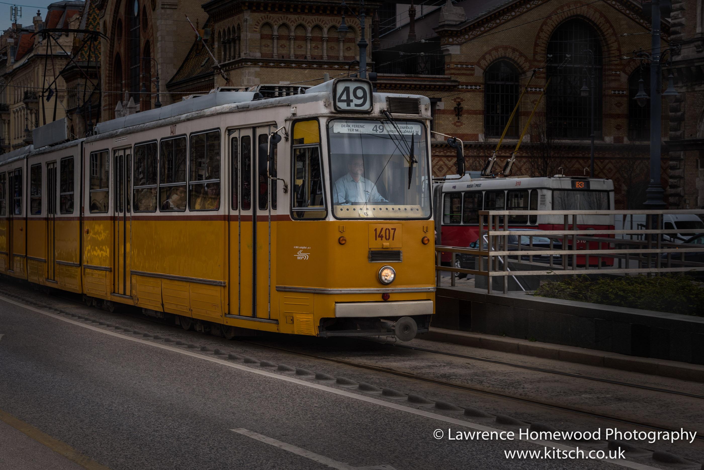 Yellow Tram Budapest