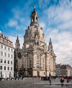 Dresden Church Street Scene