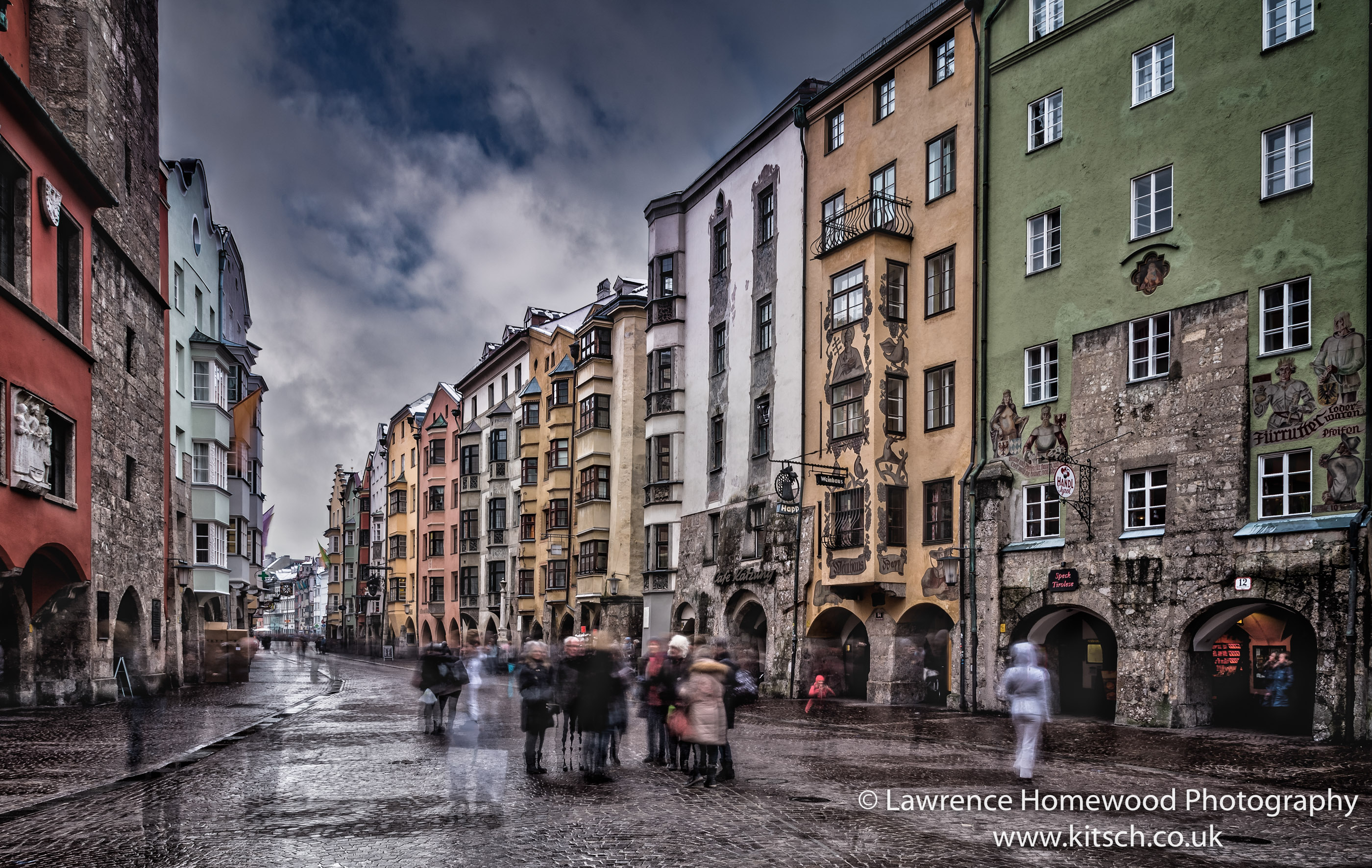 Innsbruck Ghostly Streets