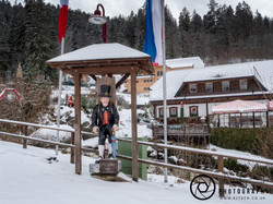 Triberg on the way to the waterfall