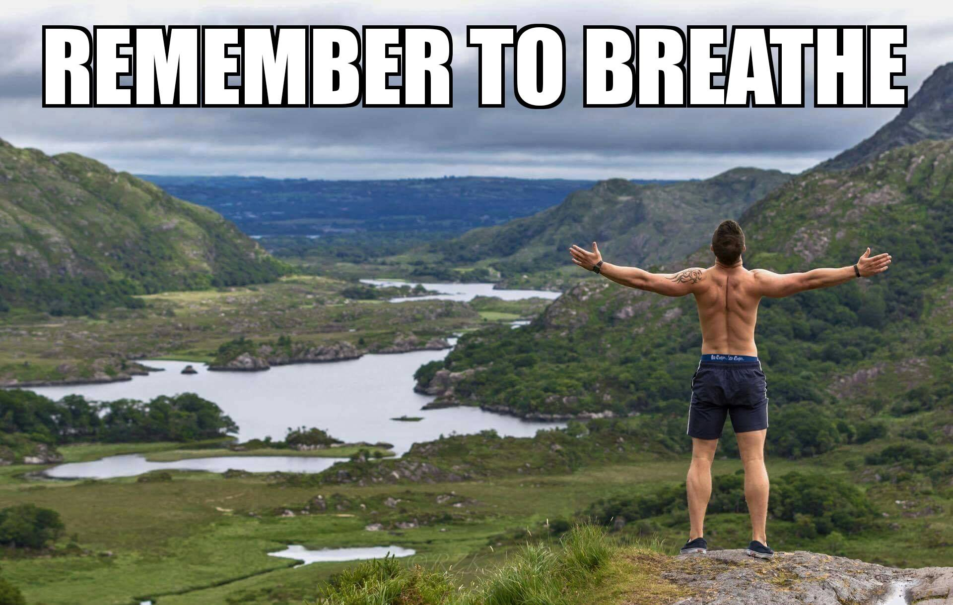 Body By Finn Personal Training -Remember to Breathe Killarney National Park Ireland Weightloss, nutr