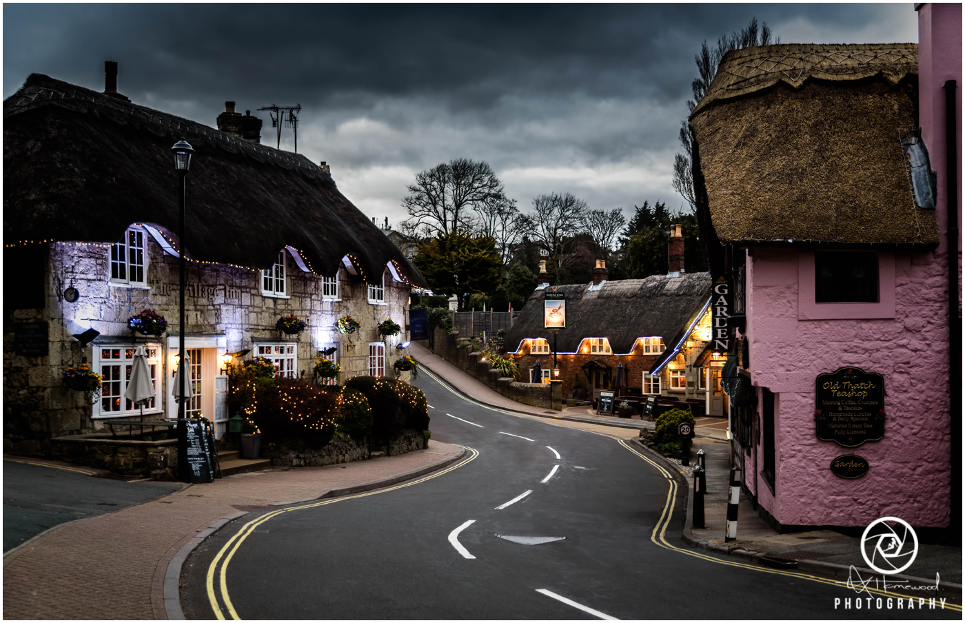 Old Village Shanklin at Night