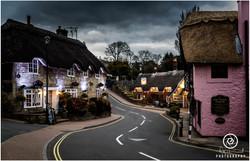 Old Village Shanklin at Night