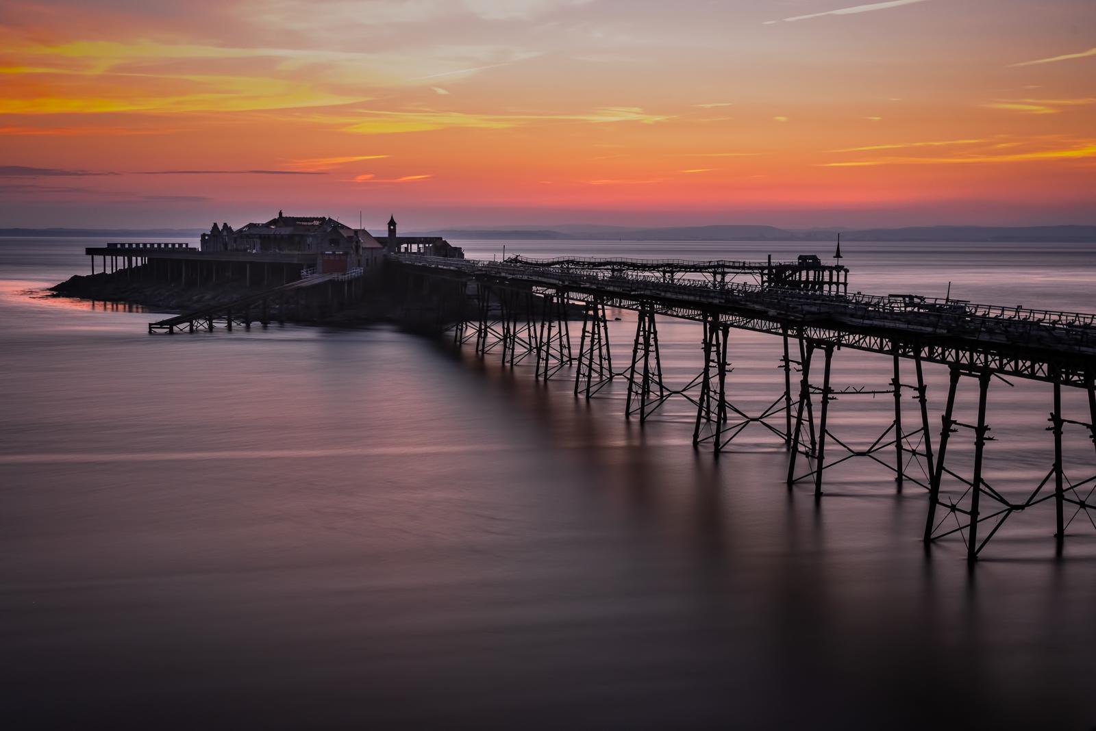 Birnbeck Pier Sunset