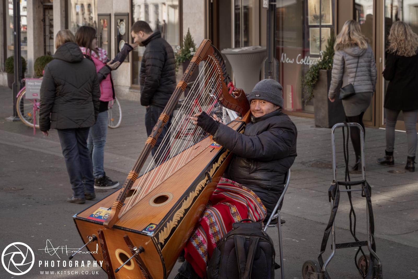 Konstanz Street Musician