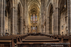 St Vitus Cathedral Prague Interior 1