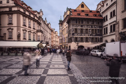 Prague Movement in the Streets