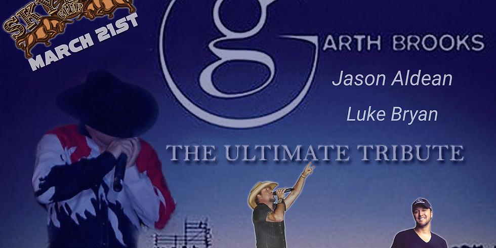 Garth Brooks, Jason Aldean, Luke Bryan Ultimate Country Tribute
